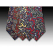 printed silk ties-paisley