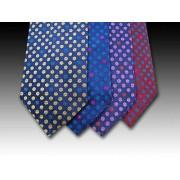 woven silk ties-spots